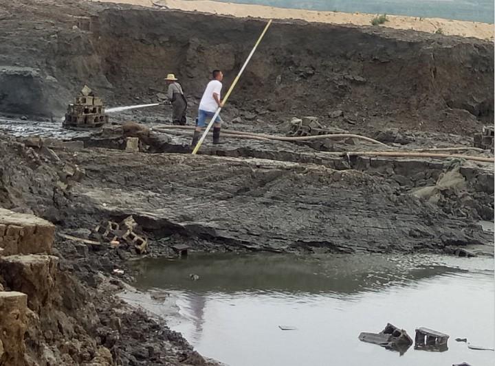 河道污泥处理
